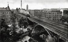 Eisenbahnviadukt Chemnitz um1930