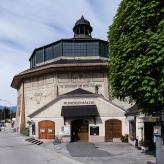 """Gebäude für das Riesenrundgemälde """"Schlacht am Bergisel"""" (Foto: S. Hoyer)"""