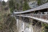 Wanderung zur Hohen Brücke St. Georgenberg bei Stans (Foto: S. Hoyer)