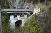Wanderung zur Hohen Brücke St. Georgenberg bei Stans (Foto: D. Häßler)